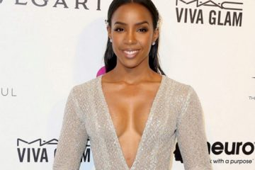 Kelly Rowland wears Laquan Smith for Oscars