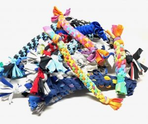 diy how to make dog toys from t-shirts