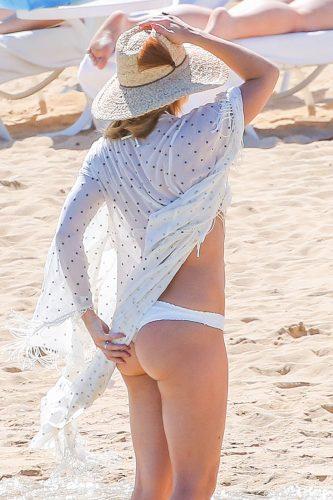 Kate Hudson's summer hat
