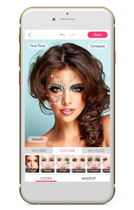 YouCam Makeup APP on your side