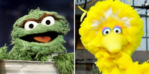 Oscar the Grouch rejects big bird on twitter