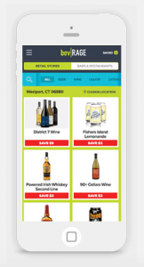 bevRAGE gives you, the consumer, the power to collect cash back on drink deals after you make a purchase at bars, restaurants & liquor stores.