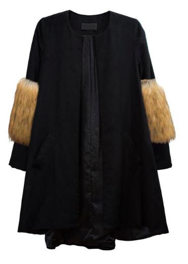EDITOR FAVE: Esmerelda Old Hollywood Coat by Morgan Clifford