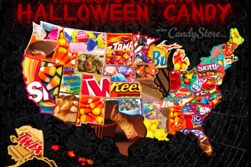 State by State Halloween Candy Ranking