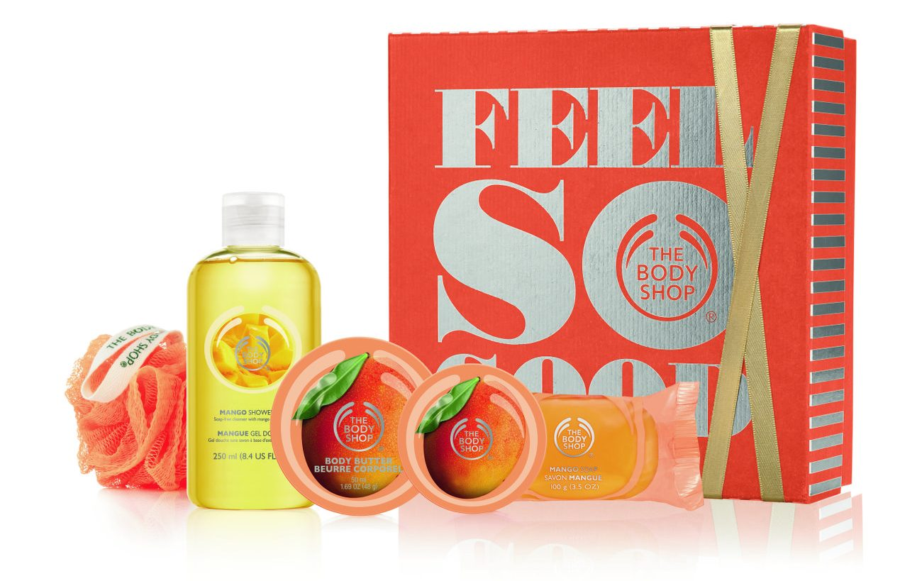 The Body Shop - Mango Feel So Good Gift Set