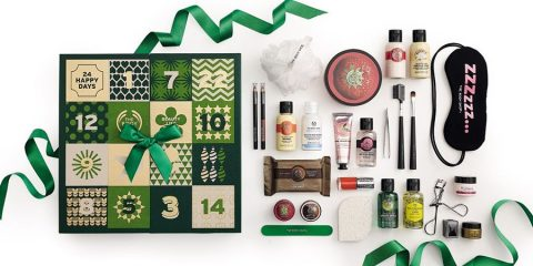 Cheeky Surprises Adent Calendar Gift Set from The Body Shop