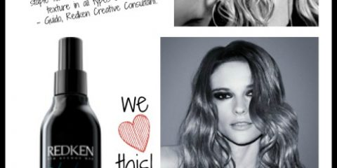 HOT PRODUCT ALERT: Redken Fashion Waves 07 texturizing sea spray