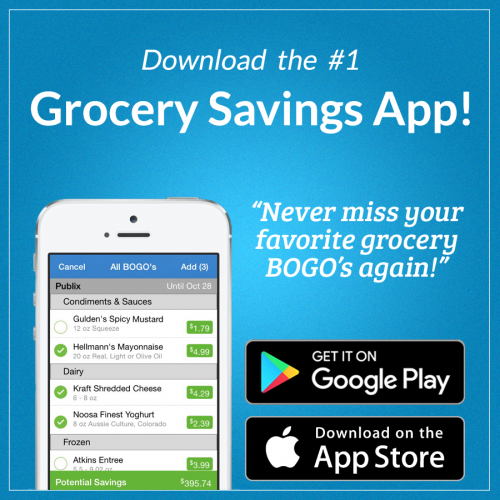 grocery app JustBOGOS can save you 50%